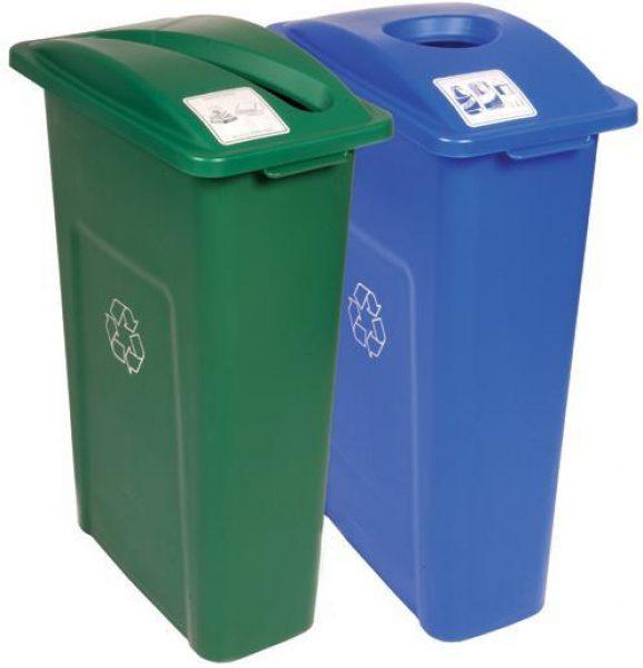 Indoor recyc bins