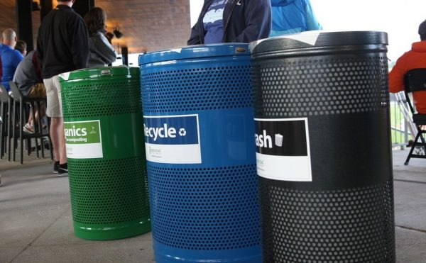 Three bin system at event