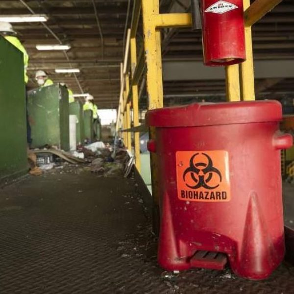 Biohazard container RSM MRF