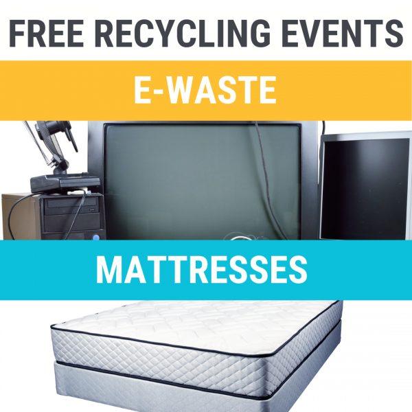 E waste mattress