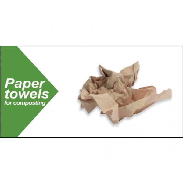 Compost paper towels 5 x 11 thumbnail