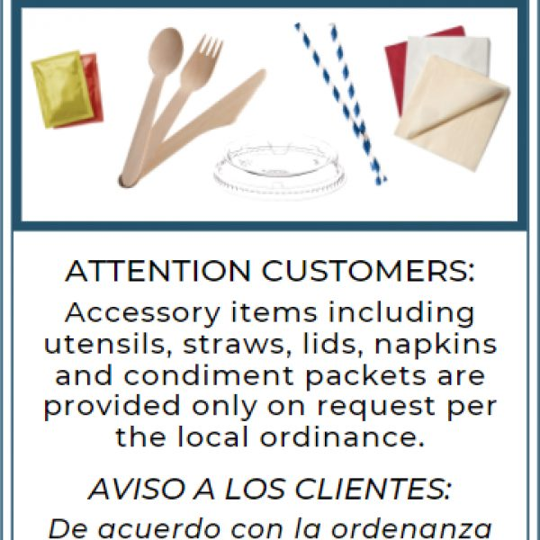 Thumbnail Accessories on Request Food Truck Flyer 5 5 x 8 5